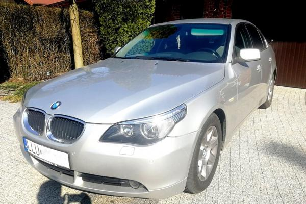 BMW E60 530d 218KM Stage 1