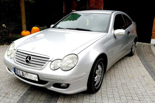 Mercedes C180 Coupe 1.8 Kompressor 143KM